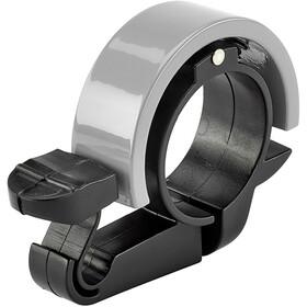 XLC DD-R01 Campanello Ø22,2mm, argento/nero